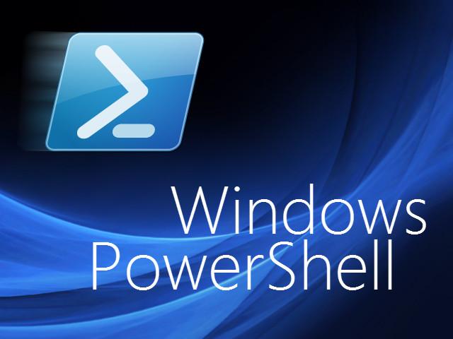 fitur windows 10 powershell