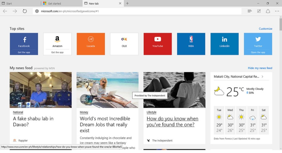 microsoft edge browser untuk windows 10