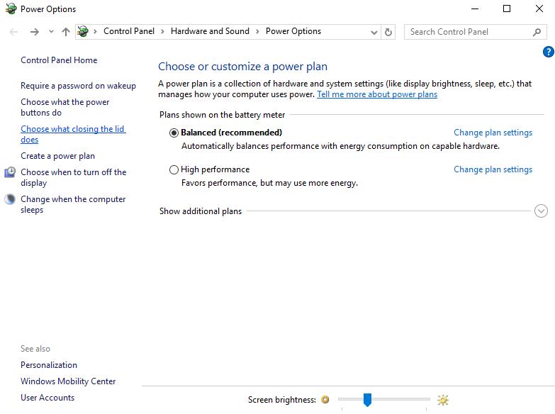 atur power plan di tablet pc windows 10